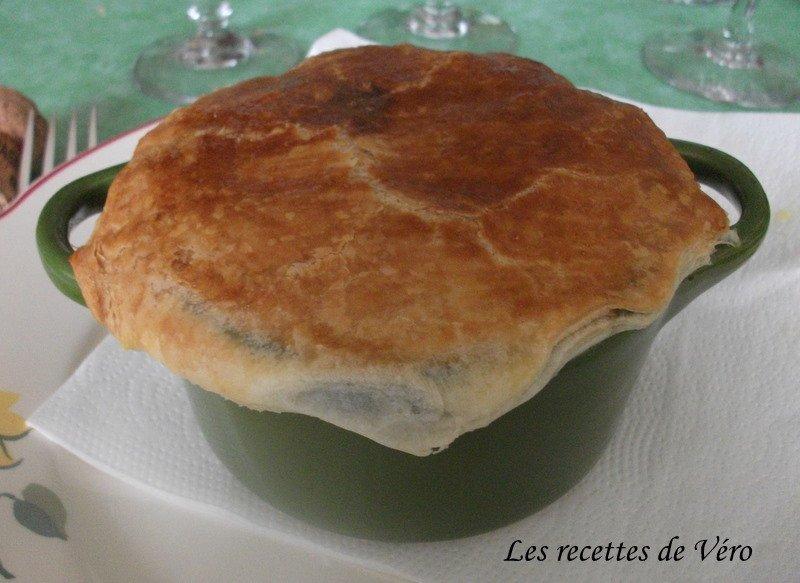 Cocotte de ris de veau au champagne en croute les - Cuisiner le veau en cocotte ...