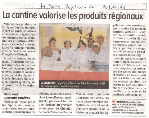 Article de presse dans BIO centre-photo-1