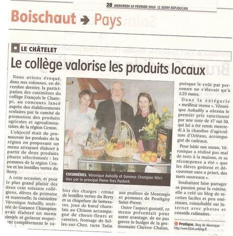 Article de presse dans COLLECTIVITE produits-locaux-10-02-10-001